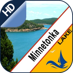 Minnetonka Lake  gps offline nautical charts