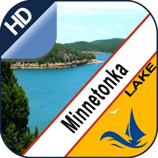 Minnetonka Lake  gps offline nautical charts