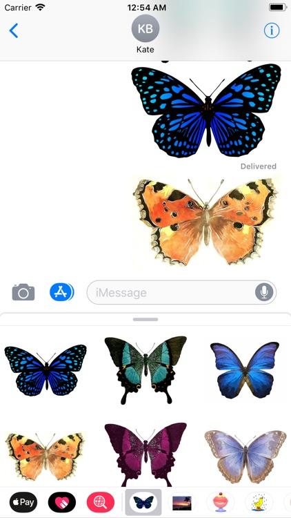 My Butterfly Sticker Pack screenshot-3