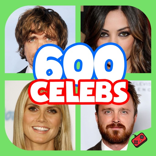600 Celebs - Celebrity Guess Quiz