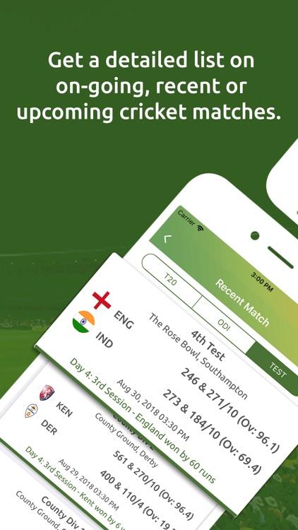 Cricket Live Line screenshot-3