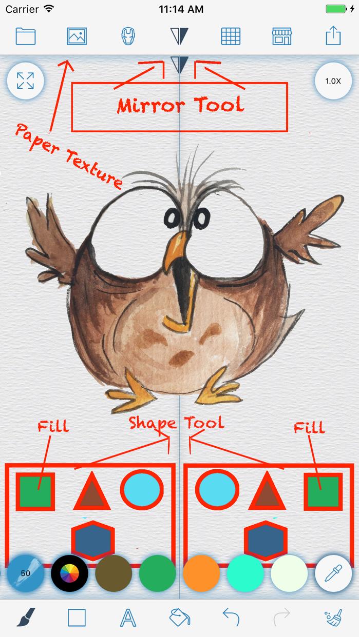 Drawing Pad - sketch, drawing Screenshot