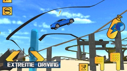 High Speed Car Stunts Driving screenshot one