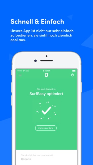 SurfEasy VPN Capture d'écran