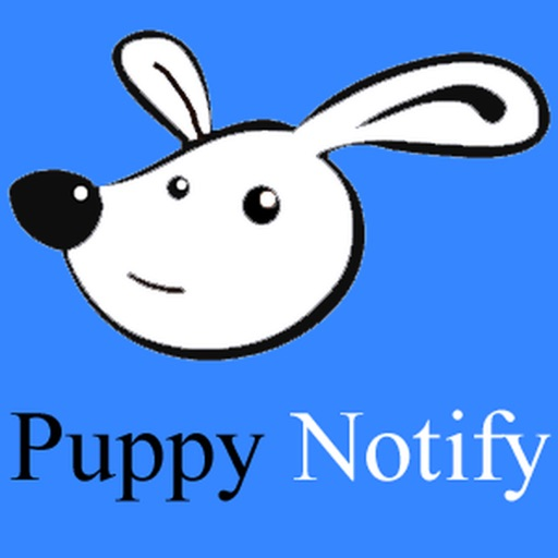 Puppy Notify iOS App
