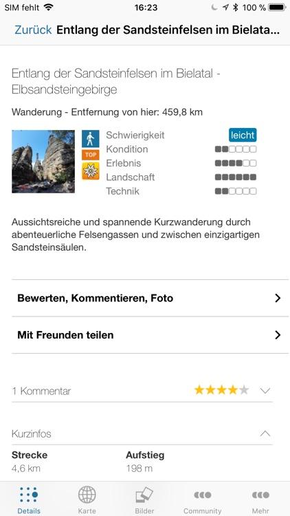 Tourplaner Sächsische Schweiz screenshot-3