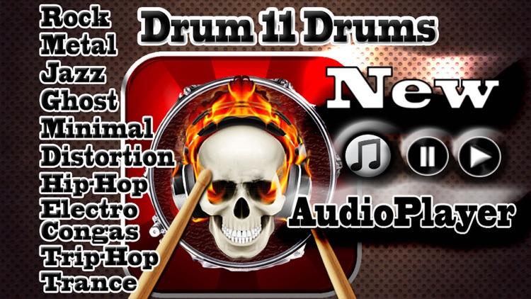 Drums (11 Drum Sets)