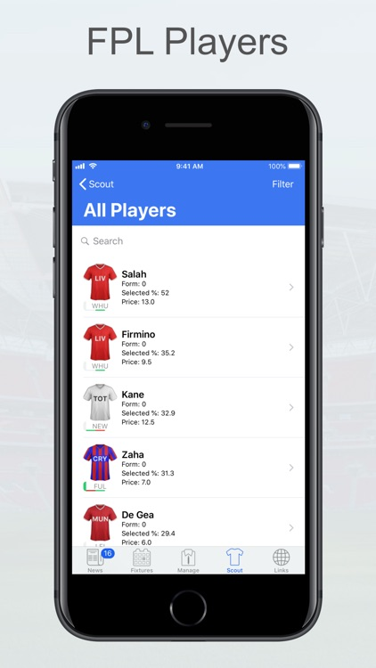Fantasy Football Manager, Lite screenshot-6