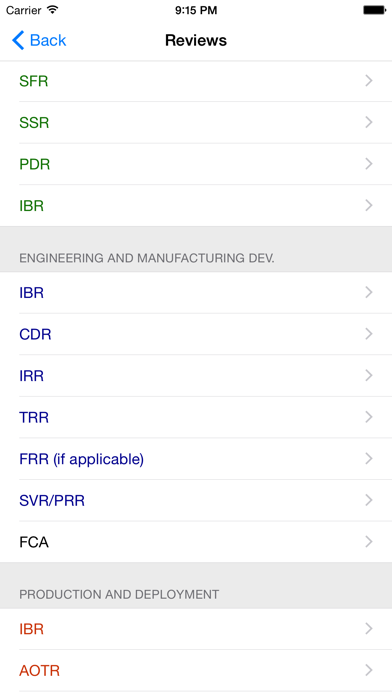 DoD Systems Engineering screenshot two