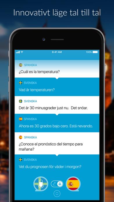 Tala & översätt: Översättare på PC