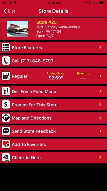 Rutter's Store Finder screenshot-3