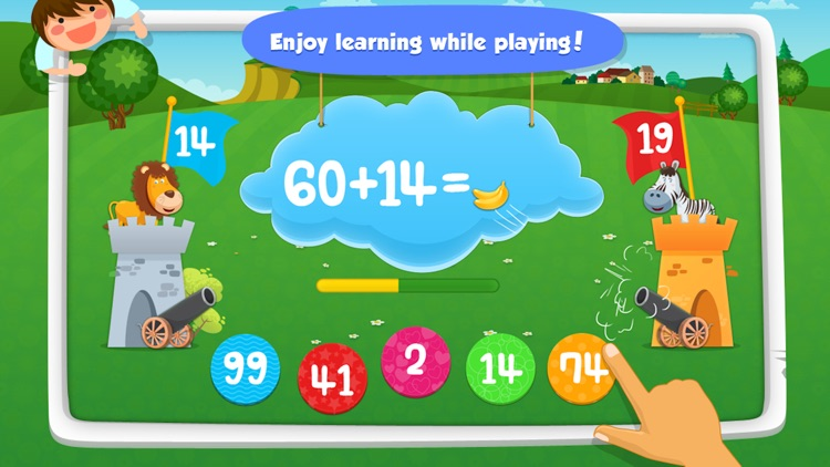 Math Games: Learn 123 Numbers