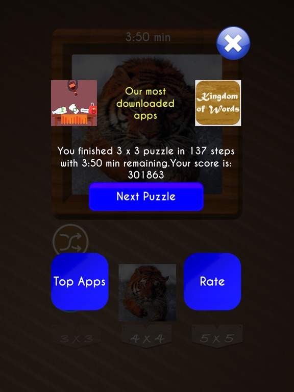 Sliding Puzzle : Tile Puzzles screenshot 10