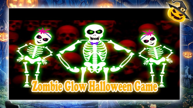 Zombie Glow Game For Halloween screenshot-2