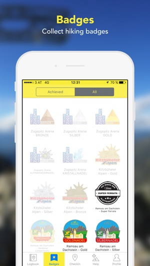 Summit log & hiking maps on the App Store