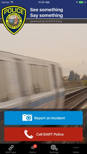 BART Watch Screenshot