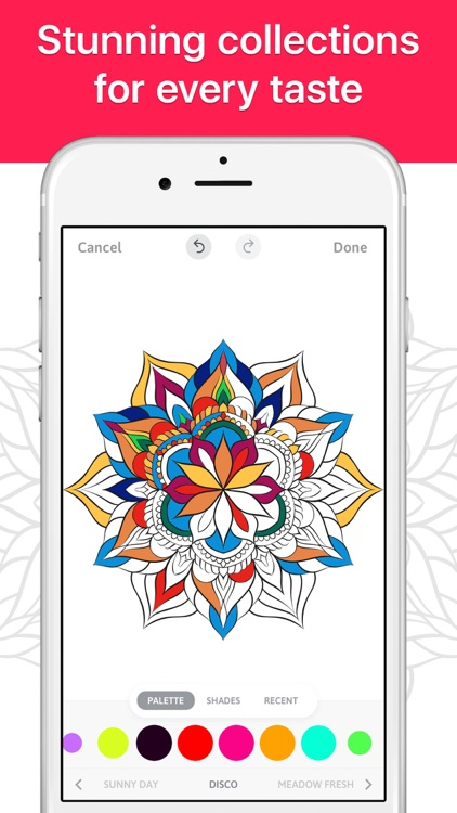 Coloring Book for Adults Now screenshot-0