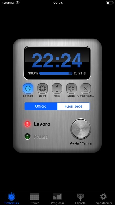 Screenshot for Übertime in Italy App Store