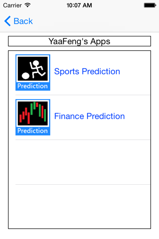 Sports Prediction - náhled