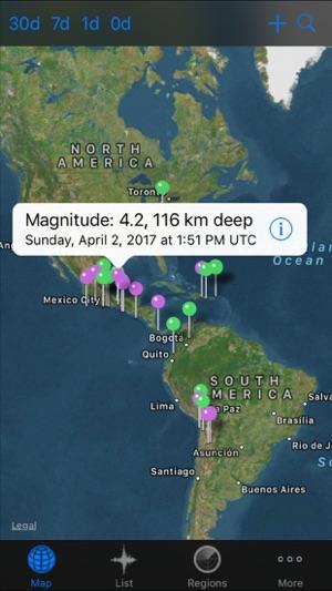 QuakeZones Pro Earthquakes on the App Store