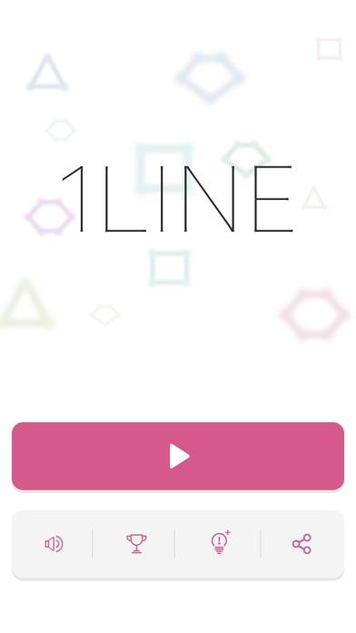 1LINE 一筆書き パズル ゲーム screenshot1