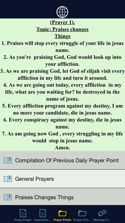 Prayer Points App by App Builder