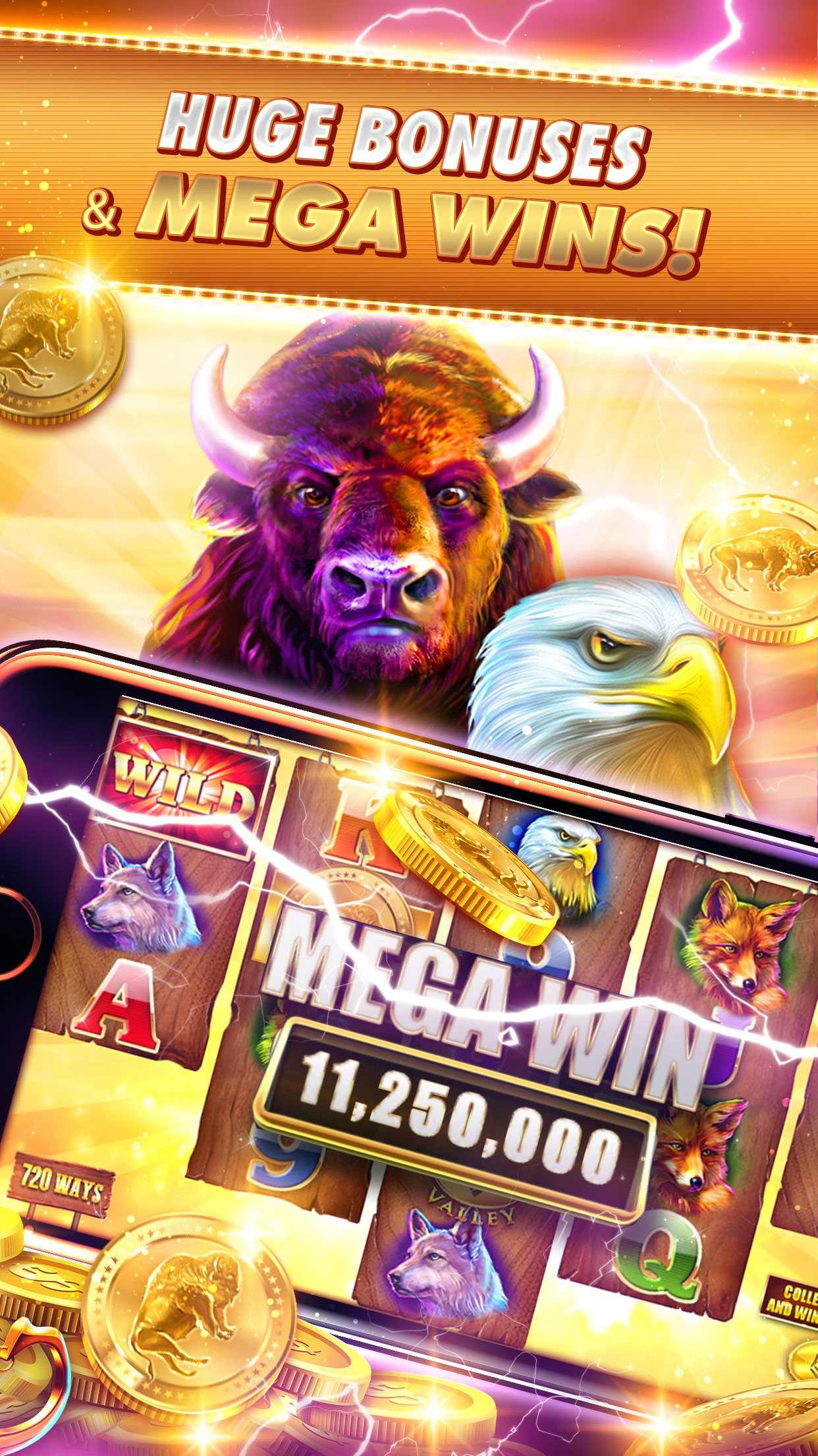 Slots Craze: New Vegas Casino Screenshot