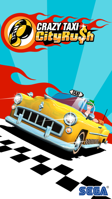 Screenshot from Crazy Taxi City Rush