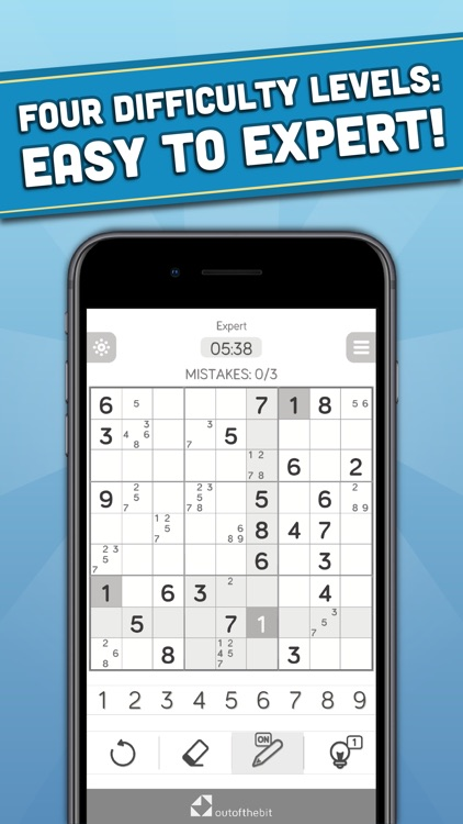 Sudoku - Classic number puzzle screenshot-1