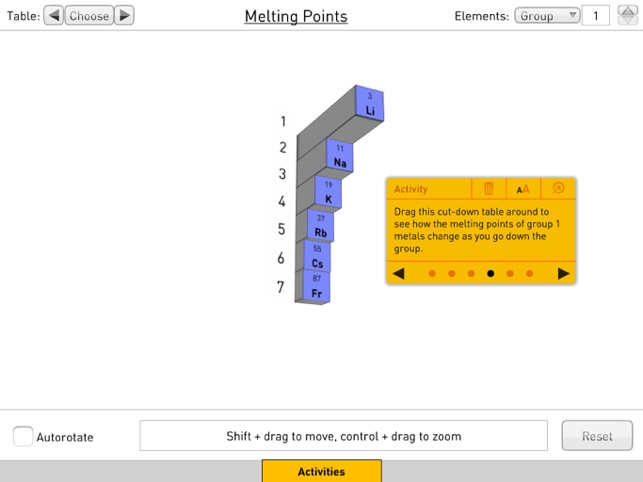 Periodic table 3d on the app store periodic table 3d on the app store urtaz Choice Image