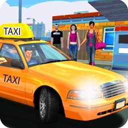 Modern Taxi School Parking