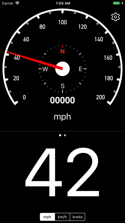 Speedometer Simple screenshot-0