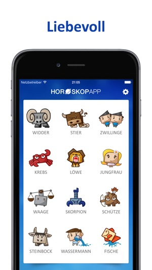horoskop app tageshoroskop im app store. Black Bedroom Furniture Sets. Home Design Ideas