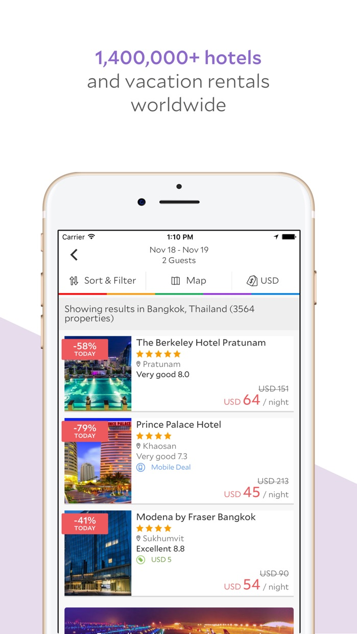 Agoda – Great Prices on Hotels Screenshot
