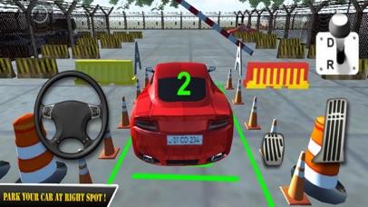 Red Car Parking Skill 18 screenshot two