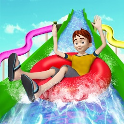 Uphill Water Slide Rush