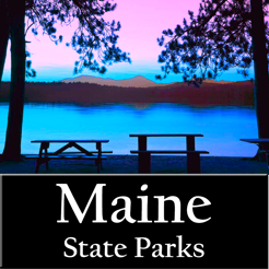 ‎Maine State Parks map!