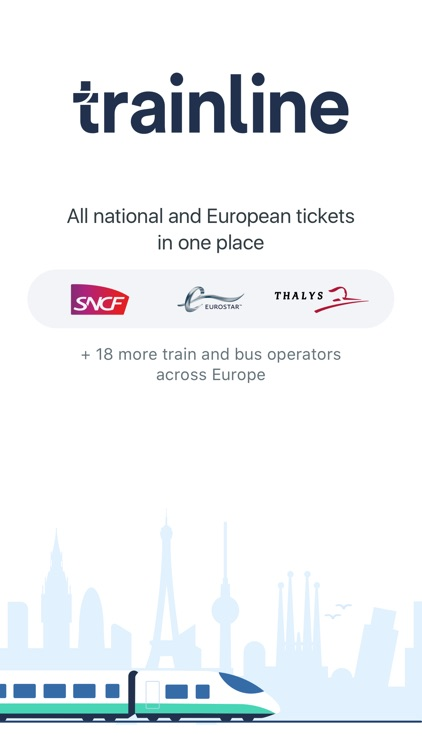 Trainline Europe screenshot-0