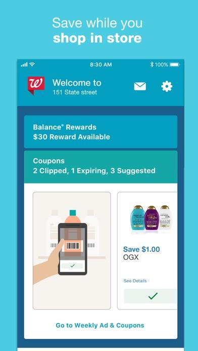 Walgreens Скриншоты7