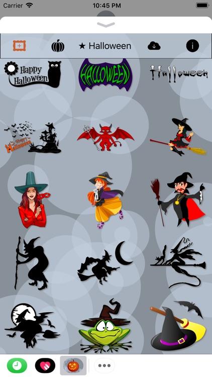 Happy Halloween • 140 stickers screenshot-3