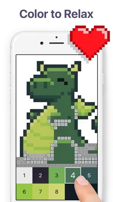 Pixel Art - Color by Number screenshot 1