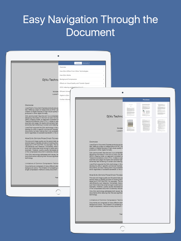 DjVu Book Reader screenshot