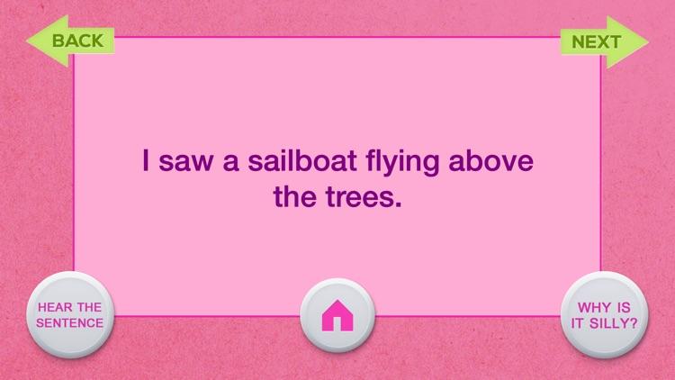 Silly Sentence Articulation screenshot-4