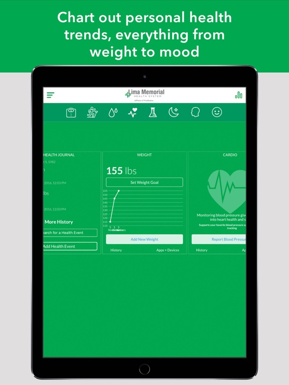 Lima Memorial Health System-ipad-4