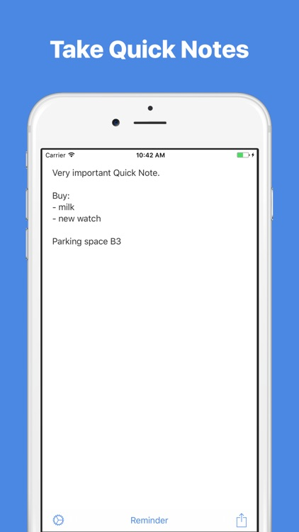 Quick Notes — Notes with widget