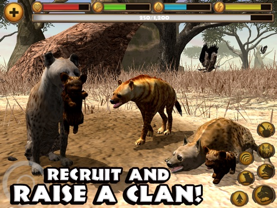 Hyena Simulator для iPad