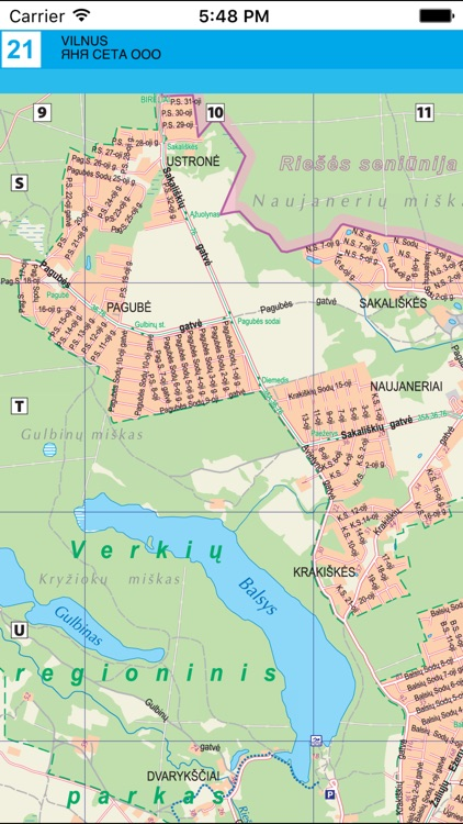 Vilnus. City plan. screenshot-4