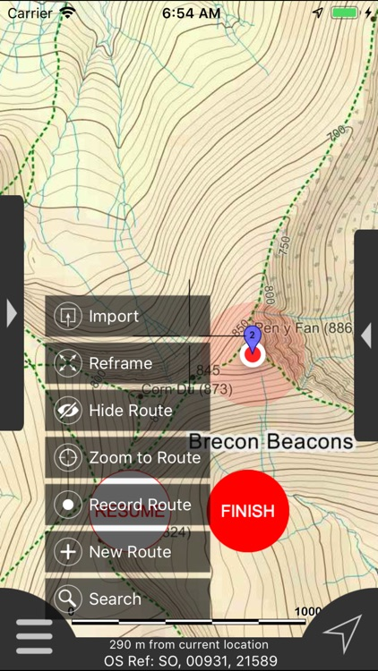 Brecon Beacons Maps Offline screenshot-8