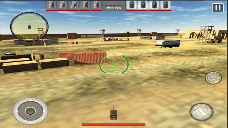 Tank War Revenge 3D screenshot-3