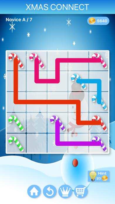 Christmas Connect - Puzzlesのおすすめ画像2